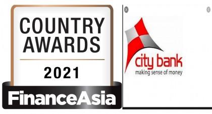 City Bank wins 'Best Bank in BD 2021' award from FinanceAsia