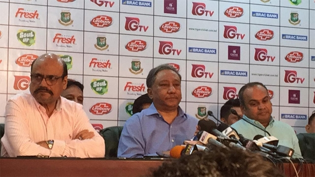 'Conspiracy' behind cricketers' strike: BCB chief