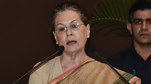 Sonia Gandhi to continue as interim president of Congress