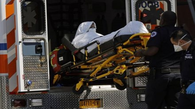 Ten people on board Emirates treated in New York hospital
