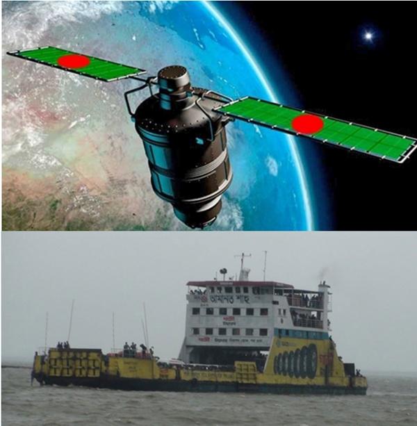 Local ships to use Bangabandhu satellite services