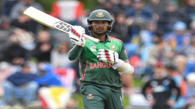 Mithun, Sabbir take Bangladesh to 226 in 2nd ODI