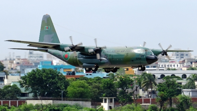 Dead bodies of plane crash victims on the way to Dhaka
