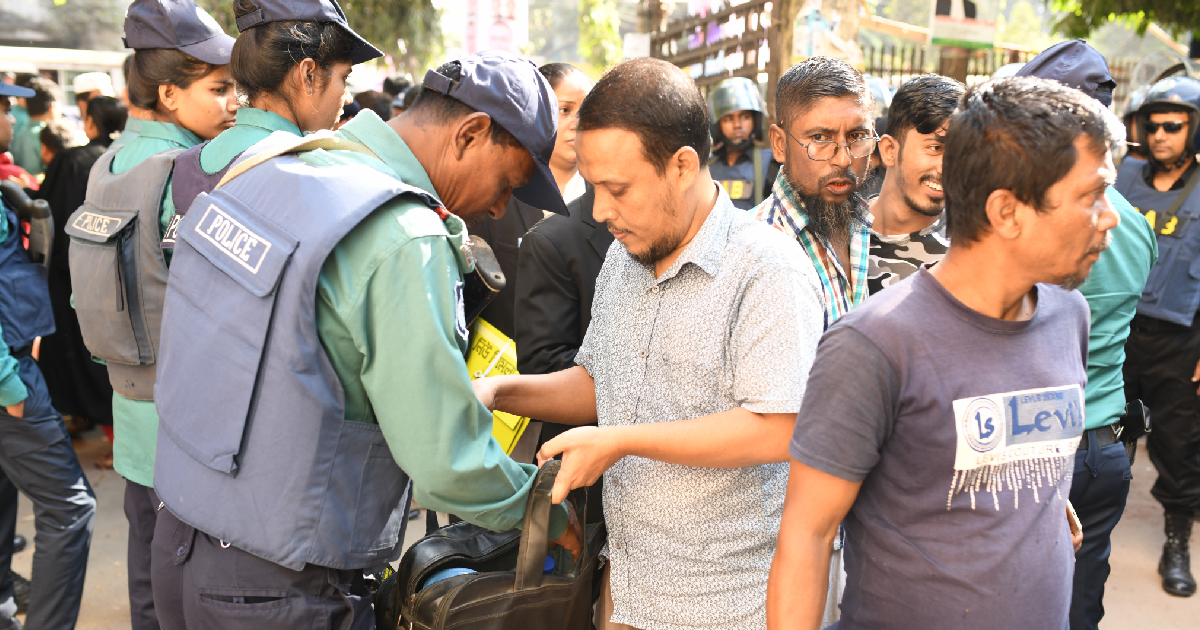 Holey Artisan Verdict: Security beefed up in court area