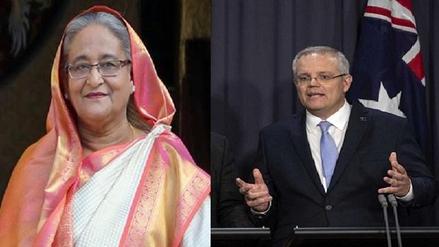 Hasina congratulates Australia's new Prime Minister