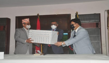 Bangladesh hands over medicines, PPE for Covid affected people of Nepal