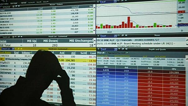 Stocks break five-day winning streak