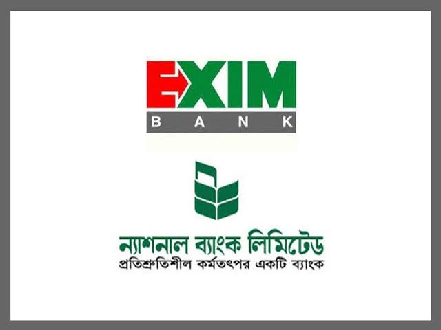 Exim and national bank face-off