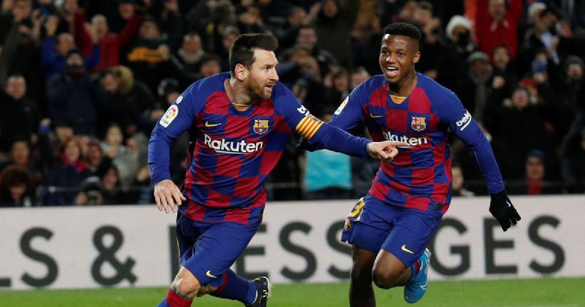 Setien starts with win as Barca and Real Madrid pull clear in Spain