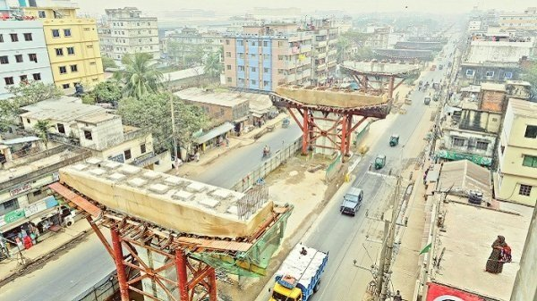 Work on Ctg elevated expressway resumes