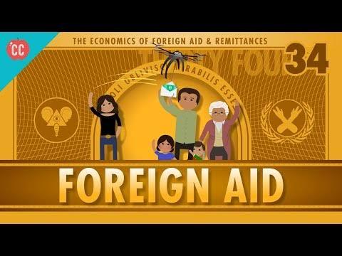 Foreign aid disbursement, commitment mark decline
