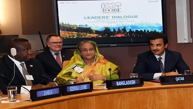 PM proposes 3 factors to address child education in conflict-affected context