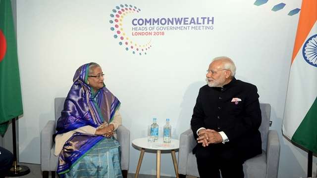 Hasina, Modi hold talks discusses bilateral issues in London