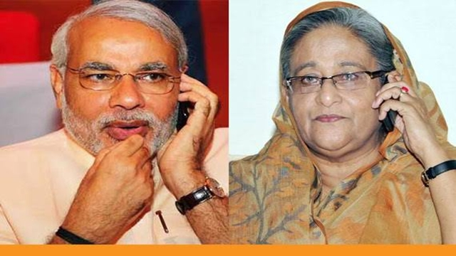 Modi phones Hasina to extend new year greetings