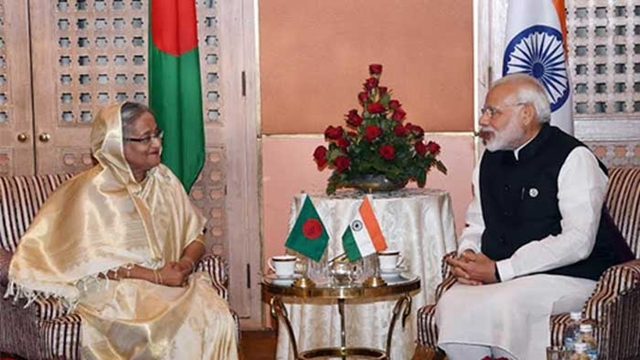 Hasina-Modi agree to work together for peoples benefits