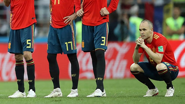 'That's life' says Iniesta after Spain farewell ends in defeat
