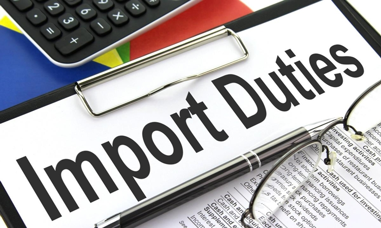 H1 import duty: Receipts from top 20 items dip