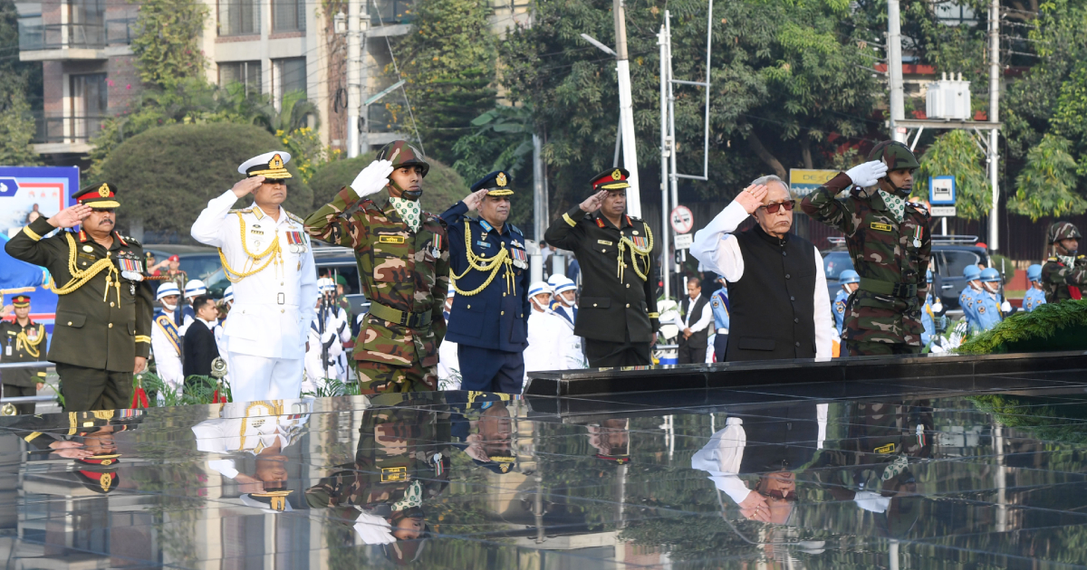 President, PM pay tribute to martyred members of Armed Forces