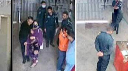 Prisoner provided with female company in Kashimpur Jail!