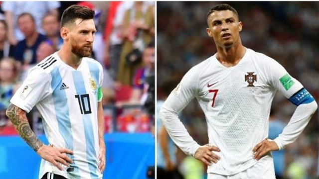 Sad farewell of Messi & Ronaldo