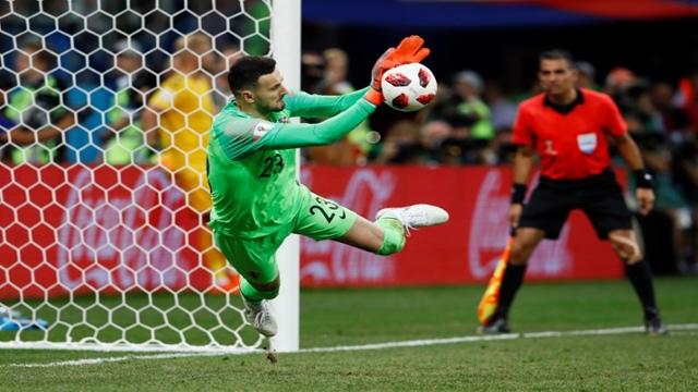 Croatia into quarter-finals beating Denmark on penalties