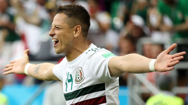 Mexico battle past South Korea 2-1
