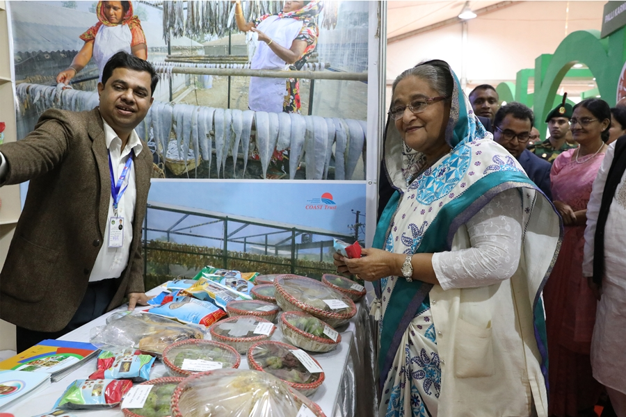 PM assured Support to COAST Endeavor to Promote Seaweeds, Dry Fish Production