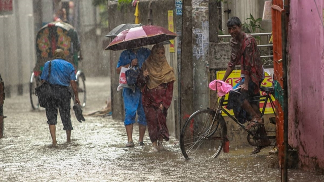 Monsoon fairly active over Bangladesh
