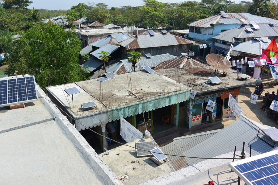 Substandard products slow down solar power development