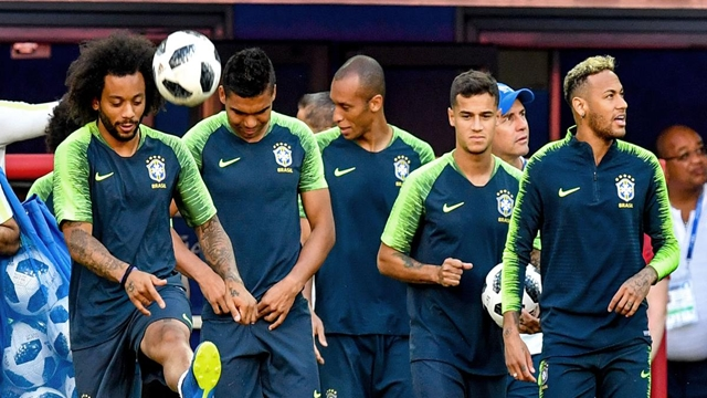 Neymar's Brazil, Belgium target World Cup quarters after Spain bow out