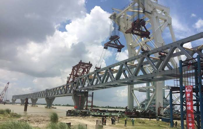 Main structure of Padma Bridge to be visible by Dec