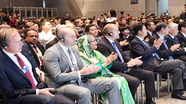 PM Hasina joins WEF Annual Meeting