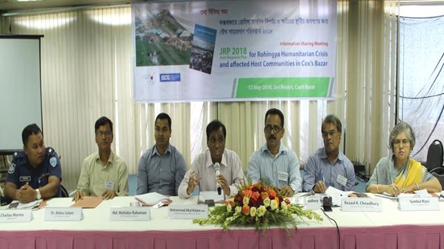 Prepare medium term planning for Rohingya humanitarian
