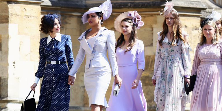 Priyanka Chopra looks every bit royal at friend Meghan Markle's wedding