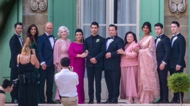 Priyanka Chopra, Nick Jonas attend Sophie Turner-Joe Jonas' wedding in Paris