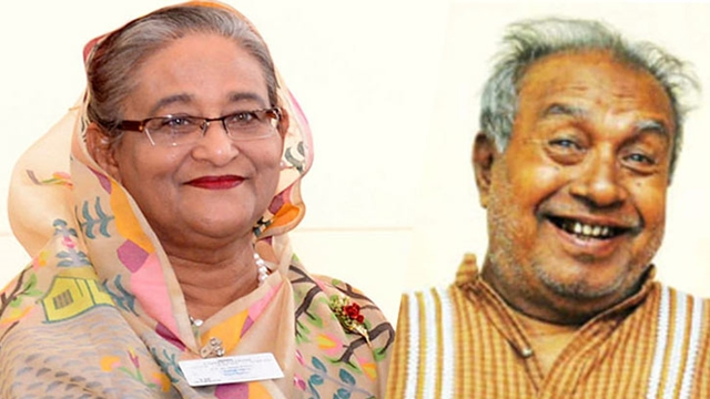 PM donates Tk 25 lakh to actor Saleh Ahmed