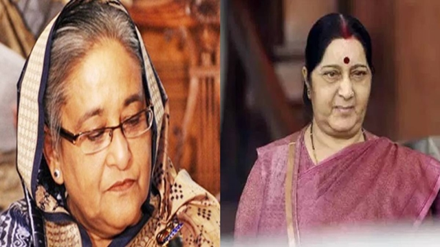 Sheikh Hasina expresses shock at the death of Shusma Swaraj