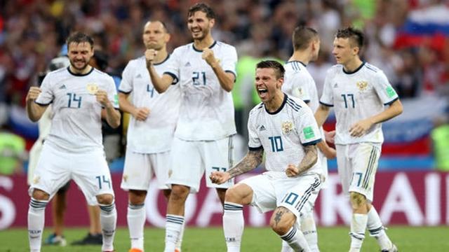 Russia knock out Spain on penalties in huge shock