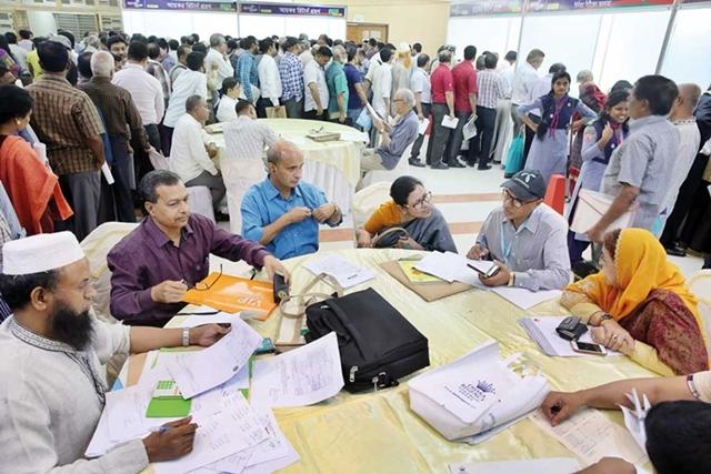 Tax fair fetches Tk 2.8 billion on fourth day