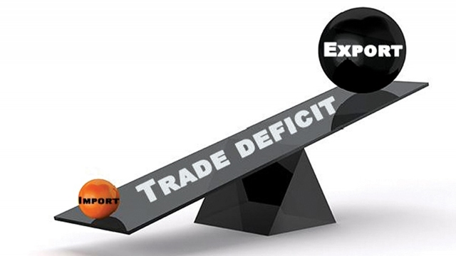Trade deficit crosses $13b in July-March