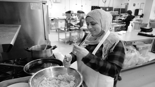 US restaurants host refugee chefs who offer a taste of home