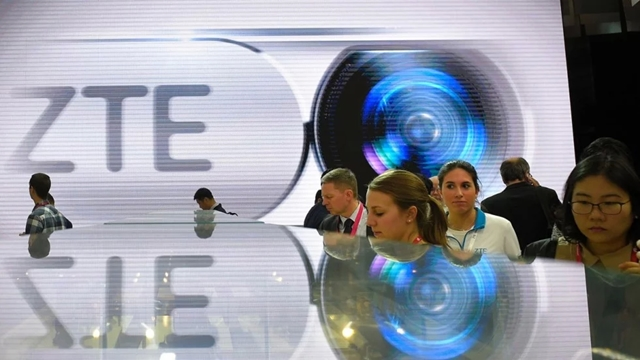 China's ZTE shares soar after US lifts supplier ban
