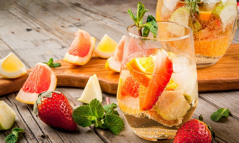 Home made mocktail recipes