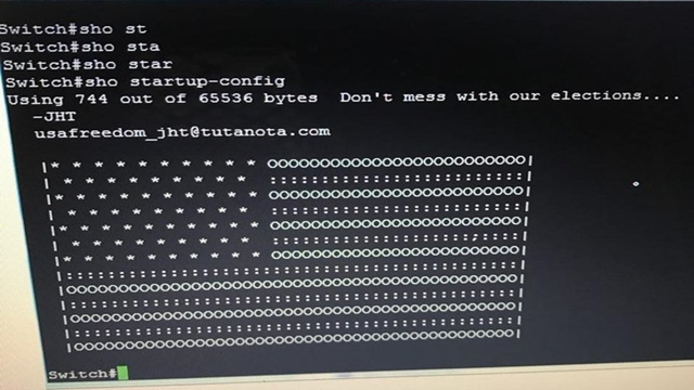Iran hit by global cyber attack that left US flag on screens