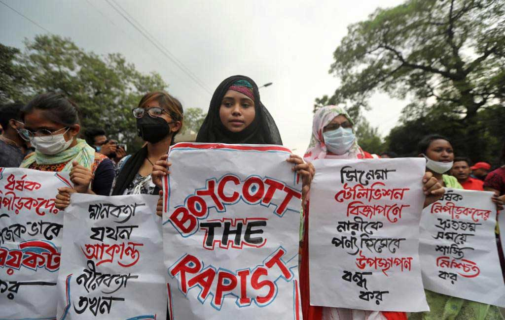 Protesters raise nine demands at anti-rape rally in Shahbagh