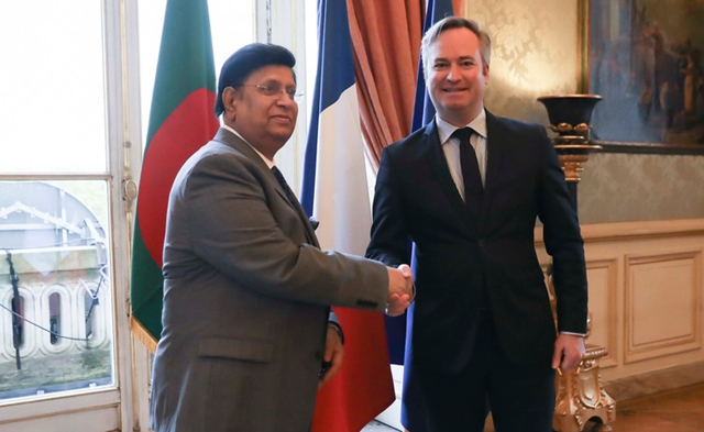Bangladesh seeks French investment in major sectors