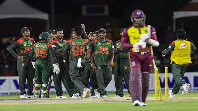 BD seal T20 series with 19-run victory over Windies