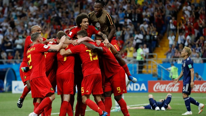Belgium break Japan hearts
