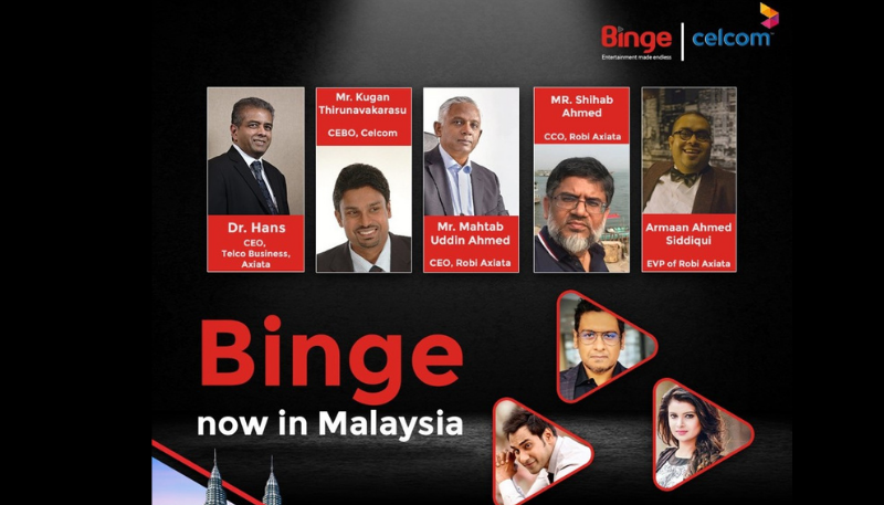 Bangladeshi OTT platform Binge set to launch in Malaysia