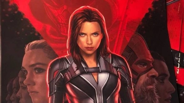 Black Widow official poster reveals the superhero's new costume